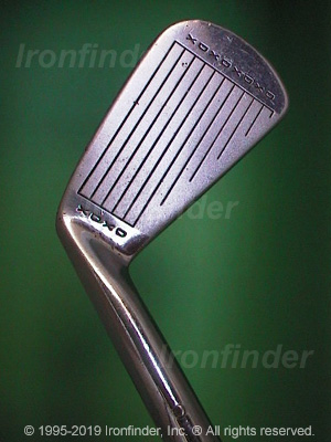 Face side of MacGregor DX TOURNEY DXR2 Irons head