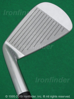Face side of Mizuno MP-58 Irons head