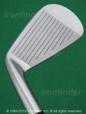 Face side of Mizuno MP-68 Irons head