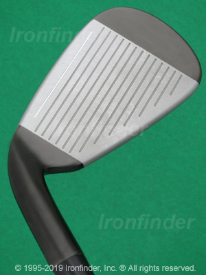 Face side of TaylorMade Burner 2.0 Irons head