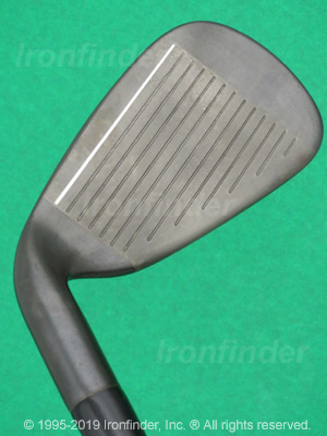 Face side of Cleveland Tour Action TA7 Gun Metal Irons head