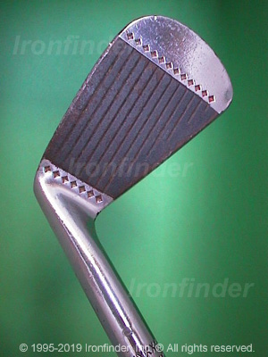 Face side of MacGregor MT Tourney M1 CF4000 Irons head