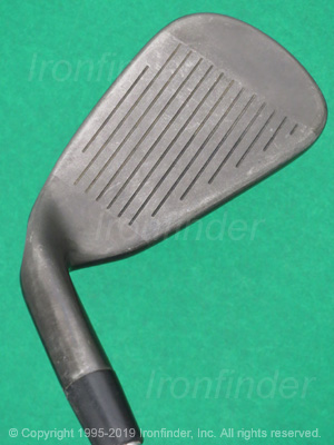 Face side of Callaway X24 HOT Irons head