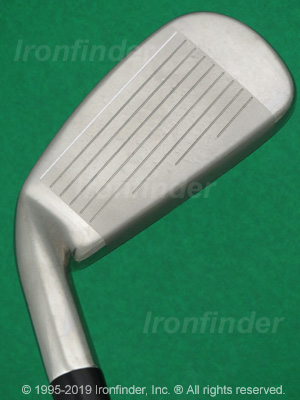 Face side of Cleveland HB3 Irons head