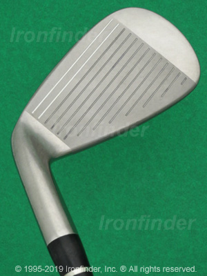 Face side of Nike Slingshot Powerbow Technology Irons head