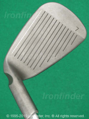 Face side of Ping i10 Irons head