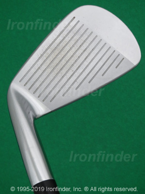Face side of Mizuno MP-63 Irons head