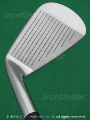 Face side of Mizuno MP-53 Irons head