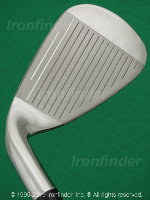 Face side of Callaway RAZR X Irons head