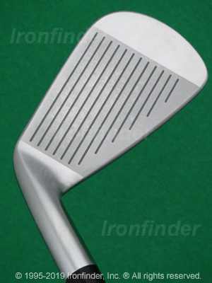 Face side of Mizuno JPX 800 PRO Irons head