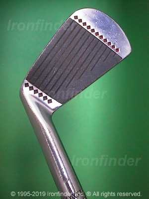 Face side of MacGregor MT Tourney M2T CF4000 Irons head