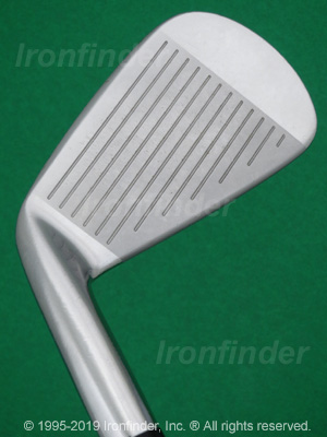 Face side of Mizuno MP-59 Irons head
