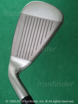 Face side of Callaway RAZR X HL Irons head