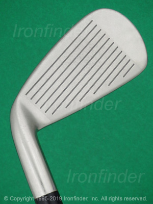 Face side of Mizuno T-ZOID FLI-HI Irons head