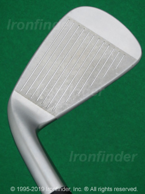 Face side of Cleveland CG16 Tour Satin Chrome Irons head