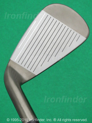 Face side of Callaway RAZR XF Forged Irons head