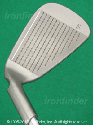 Face side of Ping i15 Irons head
