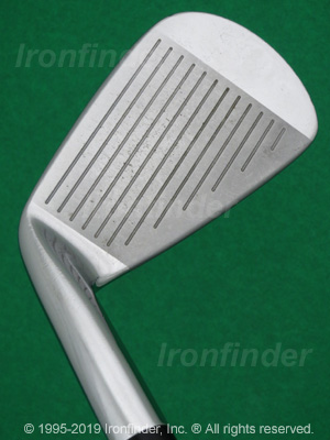 Face side of Mizuno MP-69 Irons head