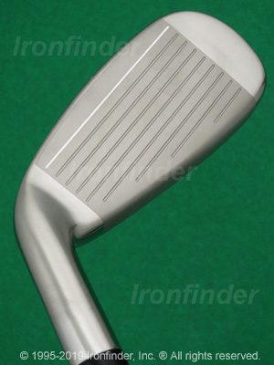 Face side of Cleveland 588 Altitude Irons head