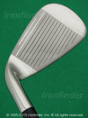 Face side of Callaway RAZR HL (Hybrid) Irons head