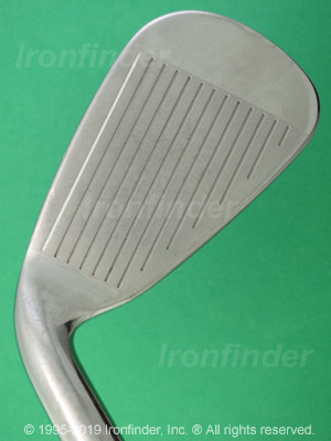 Face side of Cleveland Mashie Gliderail Irons head