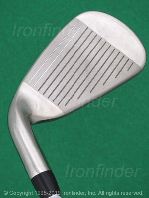 Face side of Callaway X HOT N14 Irons head