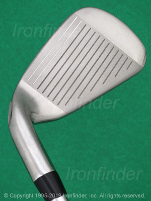 Face side of Callaway X HOT Irons head