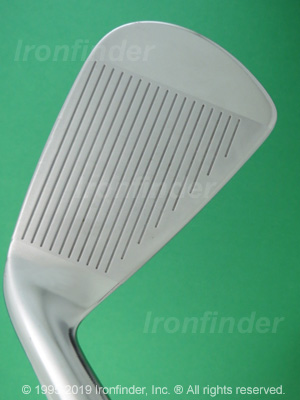 Face side of Callaway RAZR X Forged Irons head