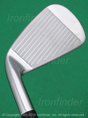 Face side of Cleveland 588.CB Precision Forged Irons head