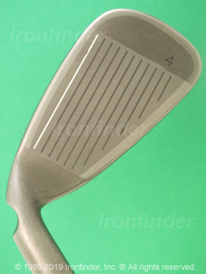 Face side of Ping Rapture V2 Irons head