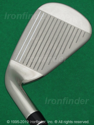 Face side of Callaway X2 HOT Irons head