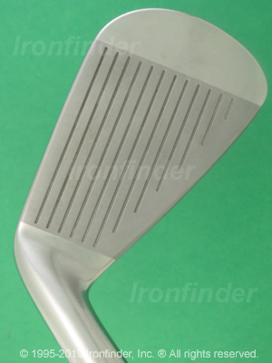 Face side of Mizuno JPX 825 PRO Irons head