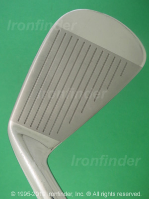 Face side of Mizuno MP-64 Irons head