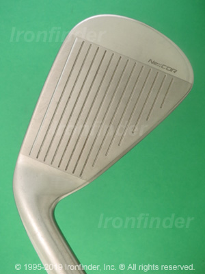 Face side of Nike VRS (Victory Red) Covert Irons head
