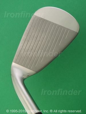 Face side of Mizuno JPX 850 Irons head