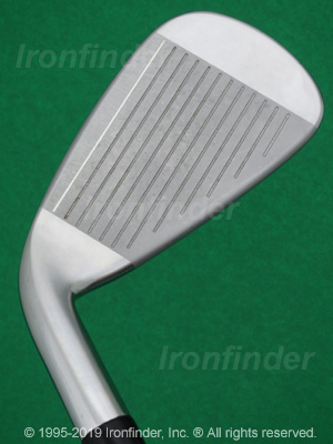 Face side of Cleveland 588 TT Tour Trajectory Irons head