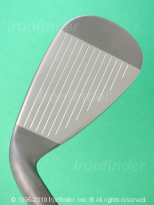 Face side of Mizuno JPX EZ Irons head