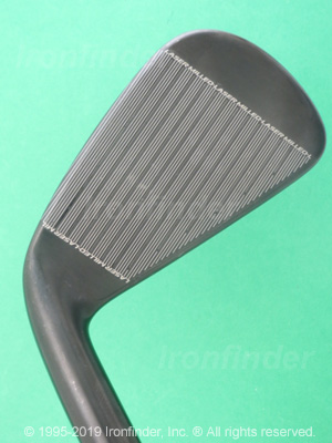 Face side of Cleveland CG16 Tour Black Pearl Irons head