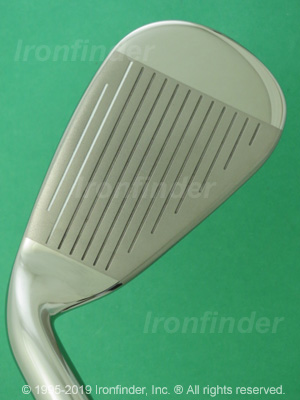 Face side of Callaway EDGE Irons head
