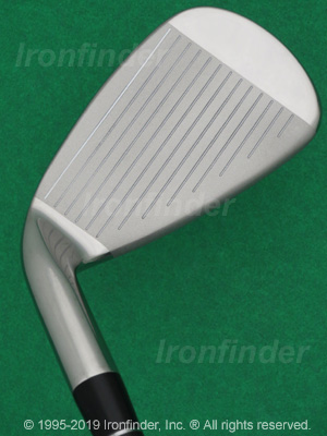 Face side of Adams Speedline Plus Irons head