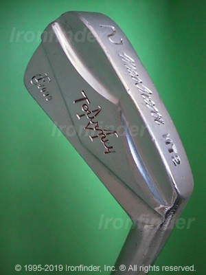 Back side of MacGregor MTourney CF4000 MT2 (On sole) Irons head - the 