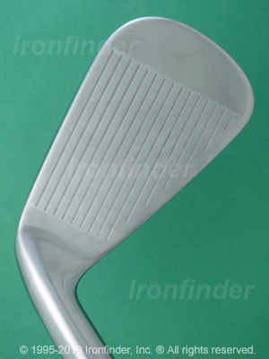 Face side of Nike VAPOR Speed Irons head