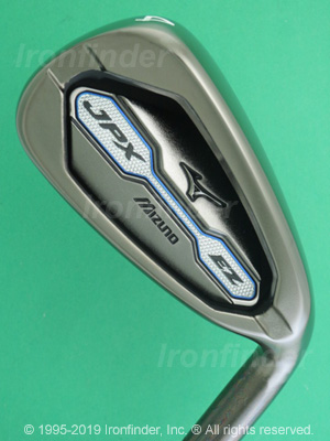 Back side of Mizuno JPX EZ 2016 Irons head - the 