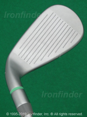 Face side of TaylorMade KALEA Irons head