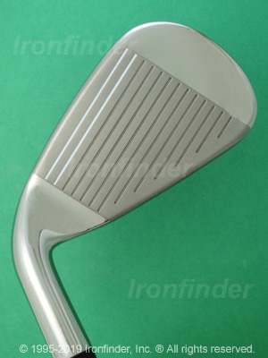 Face side of Callaway XR Cup 360 Irons head