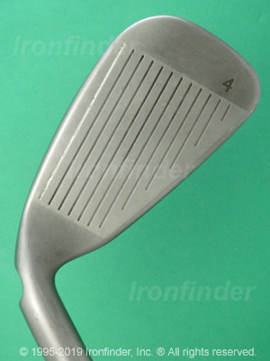 Face side of Ping G25 Irons head