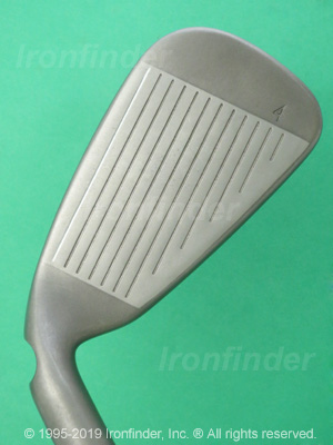 Face side of Ping G30 Irons head