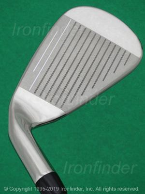 Face side of Callaway Steelhead XR Cup 360 Irons head