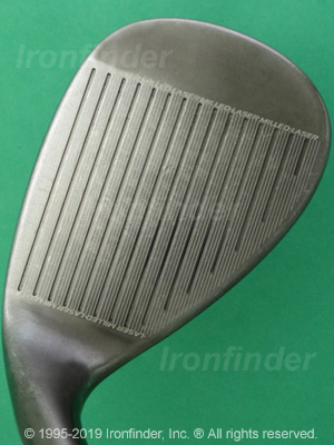 Face side of Cleveland CG Wedges Irons head