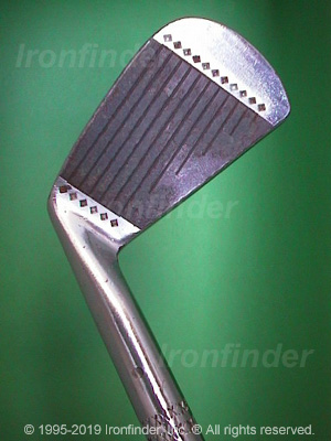 Face side of MacGregor MTourney (star) MT2 (On sole) Irons head